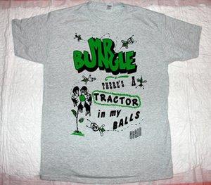 Mr. Bungle Tractor Balls Mike Patton Fede No More Tomahawk New White T-shirt maniche corte in cotone T Shirt Top Tee