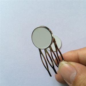 пользовательские украшения для волос для сублимации гребень зуб аксессуар для волос для женщин заготовки diy расходные материалы для передачи тепла оптовые 07932