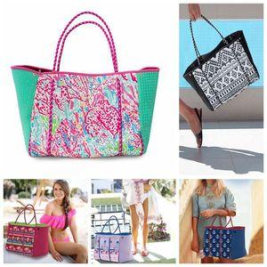 Beach Neoprene Multipurpose 2018 Movable Inner Handbag Bag Tote Pocket And With Board Zipper Summer Fashion Qtncc
