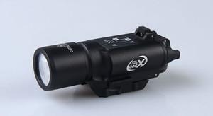 X300 LED taktik el feneri için beyaz Işık torch avcılık çekim Picatinny Weaverer 20mm için tüfek kapsam