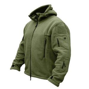 Человек флис тактическая сфокусированная куртка открытый термальный спортивный прогулки полярное пальто с капюшоном верхняя одежда армейская одежда открытая ткань