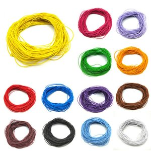 24 m * 1mm Beads Jóias Corda de Borracha Elástica Linha Beading Cord Para DIY Pulseira Colar de Jóias Fazendo