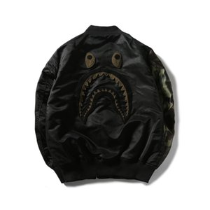 Sonbahar Yeni Tide Marka Erkekler \'; S Siyah İnce Casual Beyzbol Ceket Lover Casual Fermuar Hırka Polyester Jacke