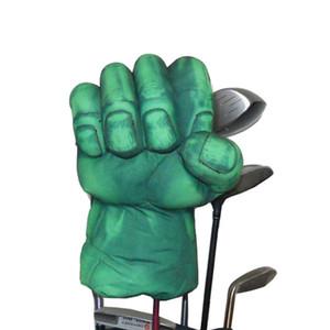 Golf The Green Hand Boxing Club Cover para Driver Wood 460cc Golf Club head, Animal Headcover