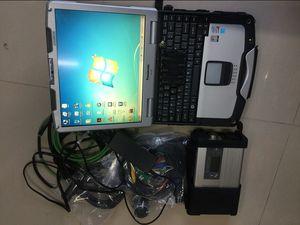 mb star c5 für Mercedes Benz Diagnosewerkzeug mit xentry epc dem hdd mit Laptop CF30 Touch star Diagnose C5