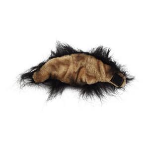 Haustier Hund Katze Emulation Lion Haar Mane Ears-Kopf-Kopf Herbst-Winter-Dress Up Kostüm Muffler Schal