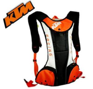 Motocicleta Backpack água sacos para Ombros KTM Reflective Moto Bag Água bagagem impermeável equitação Top Caso Motocicleta Motorbike