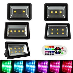 3 년 보증 LED 홍수 빛 200W 300W 400W 500W 600w RGB / 따뜻한 / 차가운 오순절 프로젝트 투광 램프 방수 램프 조명 85-265v