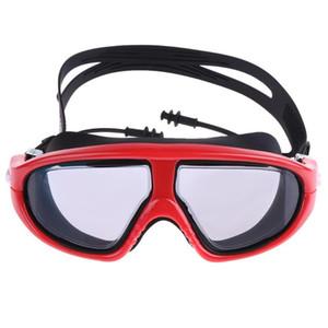 Professional Swimming Goggles Anti-Fog UV Adjustable Plating Men Women Waterproof Silicone Glasses Adult Eyewear