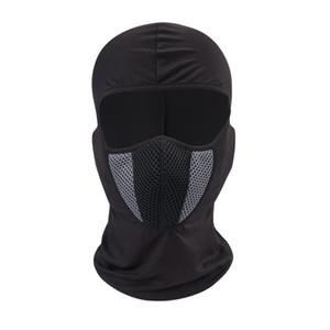 Capacete de Protecção Máscara Facial Máscaras Motorcycle Airsoft respirável Paintball bicicleta de ciclismo esqui Prático Soft Touch Poeira Hat Proof 13 8xg Z