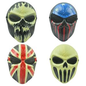 Chief Horror Masquerade Chief Mask Full Face PVC CS Mask Maschera protettiva per Cosplay Halloween Night Club