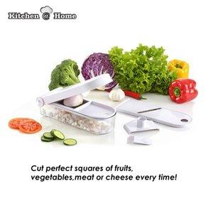 Utensilios de cocina Magic Chopper Kitchen Pro Slice Dicer Chop Verduras Fruta Rallador Cortador Taza medidora Rejilla Tenedor