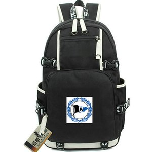 DSC Arminia Bielefeld sırt çantası Bir rozet sırt çantası Futbol kulübü schoolbag Futbol sırt çantası Kaliteli sırt çantası Spor okul çantası Dışarı kapı günü paketi