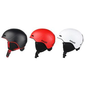 전문 스키 헬멧 겨울 따뜻한 성인 스노우 보드 헤드 프로텍터 통기성 스케이트 보드 스키 헬멧 저렴한 스키 일체로 성형
