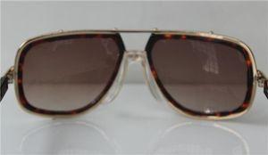 61-19-140mm 2018 Moda Frame Box Óculos de Tartaruga Brown com Lentes Marrons 656 Vintage Legends New Dtduq