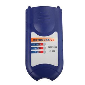 Profissional Auto ferramenta de varredura NEXIQ 125032 Link USB + Software Caminhão Diesel Diagnosticar Software de Interface DHL grátis