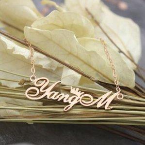 jewerly S925sterling silberne Halskette CZnecklace Name Halskette als Geschenk heiße Art und Weise frei von Versand
