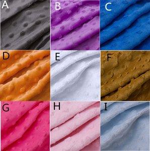 150 CM * 50 CM çocuk / kreş Süper yumuşak kısa peluş köpük kumaş peluş bez bezelye battaniye kumaş demleme bez, köpük