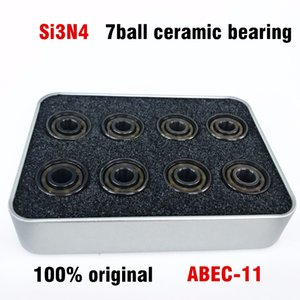professional 608 Si3N4 ceramic bearing black ceramic bearing ABEC 11 for inline speed skate scooter and racing BSB Swiss
