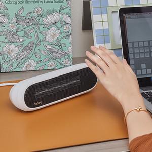 Mini chauffe-bureau PTC céramique électrique petit bébé chaud bureau ventilateur à air chaud 220V 300W