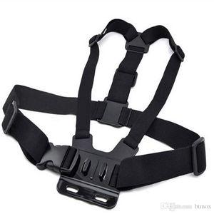 Cinta de peito Gopro Elastic Cord Chest Strap Harness Cinturão de Montagem Ajustável para Go Pro 5 4 3 acessórios