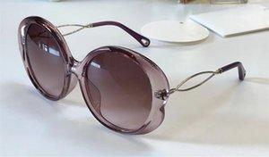Роскошные 739 солнцезащитные очки для женщин дизайнер выдалбливают УФ-защиты объектива Овальный полный кадр Черная Черепаха серый розовый поставляются с делом