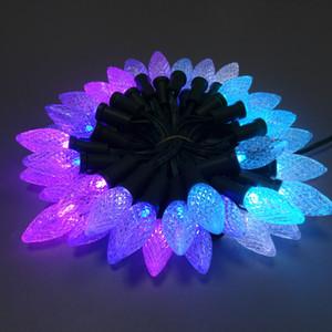 주소 C9 SM16703 크리스마스는 풀 컬러 RGB 조명 장식 요정 조명, 모든 녹색 LED 케이블을 픽셀 문자열 빛을 주도, 방수 IP68
