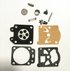 2 X kit de réparation de carb pour Zenoah Komatsu G3000 diaphragmes de carburateur de scies à chaîne joints internes ressorts aiguille reconstruire ensemble de révision