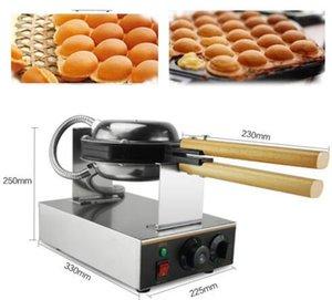 110V 220V Hongkong Paslanmaz Çelik Elektrikli Yumurtalı kek fırın; QQ Yumurta Waffle makinesi; yumurtalı waffle makinesi