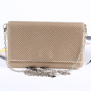 New handbags 100% handmade workmanship high quality aluminum sheet banquet bag Lady's evening bag clutches fo bridal and lady wear handbags