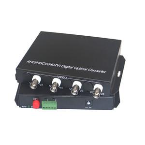 1080P HD CVI AHD TVI 4 채널 비디오 광 미디어 컨버터 (RS485 데이터 포함) - 1080p 960p 720p AHD CVI TVI HD CCTV