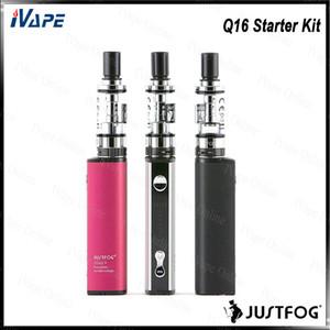 Justfog Q16 Starter Kit con Q16 Clearomizer 1.9ml J-Easy 9 VV Battery Buit-in 900mAh Pequeño diseño ligero 100% Original