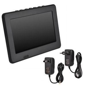 Freeshipping 7 인치 차량용 휴대용 TV 재충전 용 디지털 컬러 텔레비전 플레이어 TFT-LED 스크린 EU US 어댑터 옵션