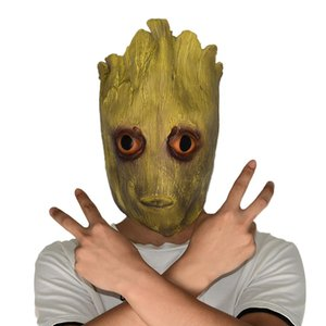Atacado Halloween Horror Árvore Máscara Demônio Chapelaria Mascarada Thriller Party Item Festival e Festas de Natal Fornecimento