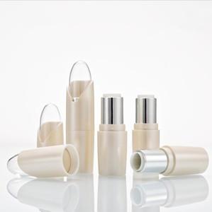 Ferramentas New vazio Tubo Matte White Lipstick Lip Gloss Caso recipientes cosméticos de beleza para o curso Embalagem 200pcs Materiais