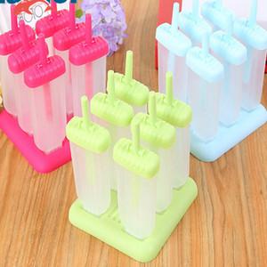 Creatived мороженое Эскимо формы для приготовления пищи инструменты круглой формы многоразовые DIY замороженные мороженое поп выпечки формы WX9-595