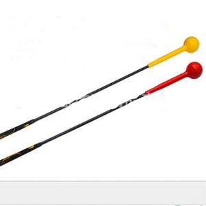 Golf Swing Trainer Aids Super Elasticidad Rubber Ball Rod Herramientas de práctica Deportes al aire libre Exercise Bar Alta calidad 90zy Ww
