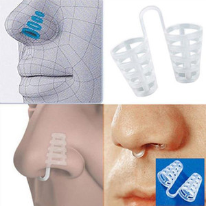 Nuovi mini dilatatori nasali in silicone Stop Snoring Anti Snore Coni Breathe-Easy Congestion Aid Nose Clip Tool Snoring Cessation