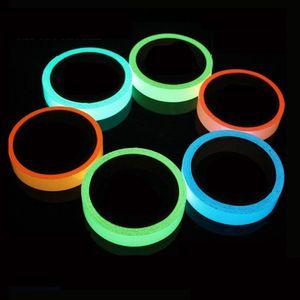 10MM 3M Luminous Bike sticker 자명종 자전거 테이프 Night Vision Glow in Dark Safety Warning 사이클링 보안 스티커