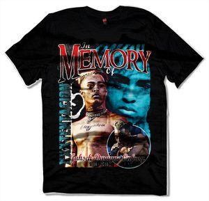 XXXTENTACION Camiseta, Hip Hop Rap Camiseta Hombres Camiseta 2018 Verano 100% Coon Camiseta superior de alta calidad Personalizar camisetas