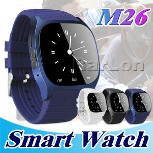 M26 Smartwatch Bluetooth intelligent Android montre pour téléphone portable avec affichage LED Lecteur de musique Podomètre pour iPhone en vente au détail