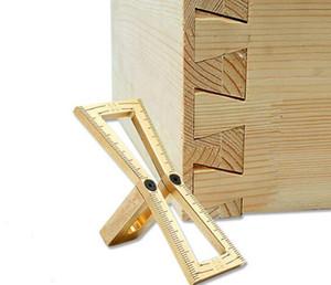 الشحن مجانا 1 قطع أدوات النجارة ل نجار النحاس اليد قطع الخشب المفاصل قياس دليل ماركر تتوافق