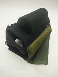 Venta caliente ajustable Bullet Pouches Táctico Butt Stock Rifle Cheek Rest Pouch portátil Bullet Bag transporte de munición