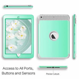 Antiurto Custodia Defender per iPad Mini 1 2 3, 4, Ipad 2 3 4, iPad 9,7 2017 2018 ipad Pro 10.5 dura del PC + Soft TPU ibrida pesante coperchio del robot