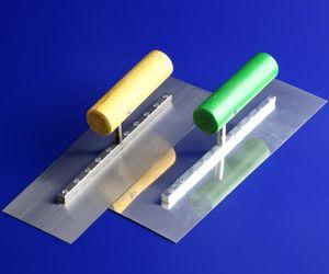 3 모델 고품질 245 * 90mm 스테인레스 스틸 블레이드 나무 손잡이 라운드 코너 석고 게이지 흙손 건설 콘크리트 Spatul