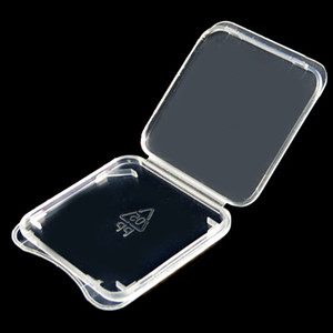 1000pcs lot SD Card Storage Box Plastic Memory Card Case Box SD Card Case Packaging Box