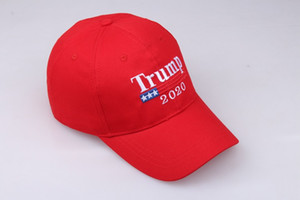 100% L (58-60CM) ricamo Trump 2020 rendere l'America Great Again Donald Trump Baseball Caps Cappelli Baseball Caps Adulti Sport Hat 3 colori