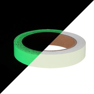Glow In Dark Tape Self-adhesive Luminous Warning Tape Night Safety Security Home Decoration Tapes for Stairs,Walls,Steps and Exit Sign