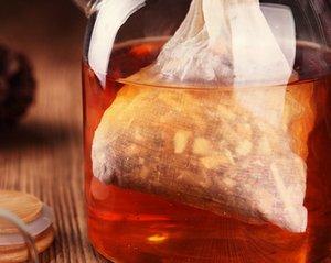 20pcs / серия Многофункционального хлопок Drawstring Сита многоразовой китайская медицина фильтр сумка кухня суп сумка пакетики Здоровый