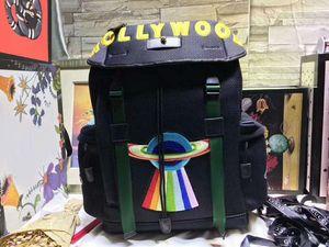 Rosso nero verde spedizione gratuita unisex uomo donna borsa escursionismo viaggi walking packbag 34 * 45 * 14 cm big size francia stile famoso design borse